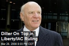 Diller On Top in Liberty/IAC Ruling