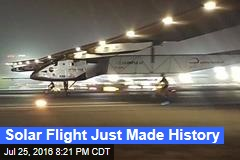 Solar Flight Just Made History