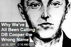 Why We've All Been Calling DB Cooper the Wrong Name