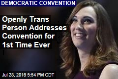 Openly Trans Person Addresses Convention for 1st Time Ever