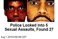 Cops Hunt for Serial Rapist Who Last Struck in 2001