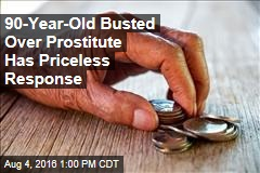 90-Year-Old Busted for Prostitute Has Priceless Response