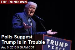 Polls Show Trump Is in Trouble