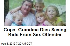 'Hero' Grandma Dies Saving Kids From Sex Offender