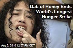 Dab of Honey Ends World's Longest Hunger Strike