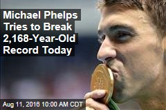 Michael Phelps Tries to Break 2,168-Year-Old Record Thursday