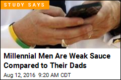 Millennial Men Are Weak Sauce Compared to Their Dads