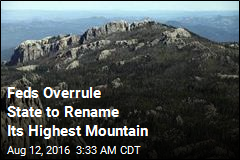 Feds Rename South Dakota's Highest Peak