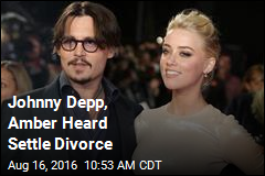 Johnny Depp, Amber Heard Settle Divorce