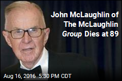 John McLaughlin of The McLaughlin Group Dies at 89