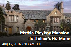 Mythic Playboy Mansion Is Hefner's No More