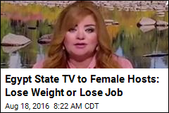 Egypt State TV to Female Hosts: Lose Weight or Lose Job