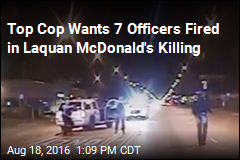 7 Cops to Be Fired in Laquan McDonald's Killing