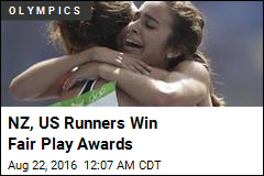 NZ, US Runners Win Fair Play Awards