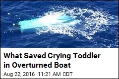 Air Pocket Saves Toddler Trapped Under Boat