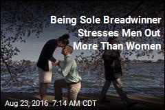 Being Sole Breadwinner Stresses Men Out More Than Women