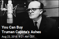 You Can Buy Truman Capote's Ashes