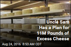 Uncle Sam Has a Plan for 11M Pounds of Excess Cheese