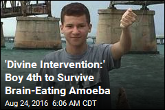 'Divine Intervention:' Boy 4th to Survive Brain-Eating Amoeba