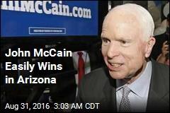John McCain Easily Wins in Arizona