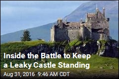 Inside the Battle to Keep a Leaky Castle Standing