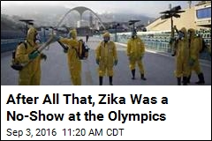 The Olympics Were Zika-Free, Apparently