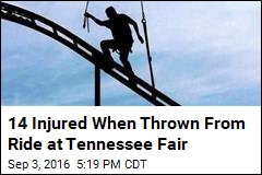14 Injured When Thrown From Ride at Tennessee Fair