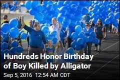 Family Holds Birthday Memorial for Boy Killed by Gator