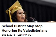 School District May Dump 'Unhealthy' 'Valedictorian' Label