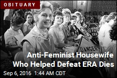 Anti-Feminist Conservative Activist Phyllis Schlafly Dead at 92