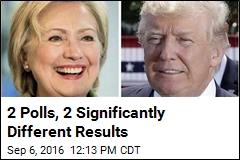 Trump, Clinton in Dead Heat in National Poll