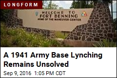A 1941 Army Base Lynching Remains Unsolved