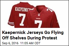 One Thing Kaepernick's Protest Isn't Hurting: Jersey Sales