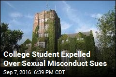 College Student Expelled Over Sexual Misconduct Sues