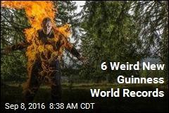 6 Weird New Guinness World Records
