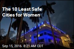 The 10 Least Safe Cities for Women