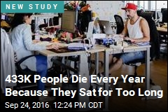 4% of Deaths Worldwide Due to Sitting for Too Long