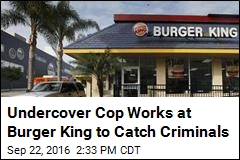 Undercover Cop Works at Burger King to Catch Criminals