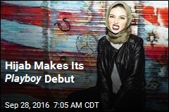 Hijab Makes Its Playboy Debut