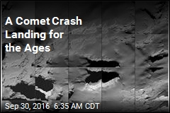 3-2-1—Crash! Rosetta Lands on Comet