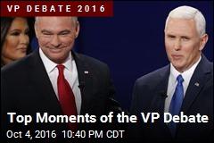 Top Moments of he VP Debate