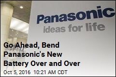 Go Ahead, Bend Panasonic's New Battery Over and Over