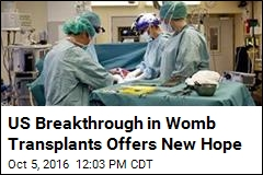 US Breakthrough in Womb Transplants Offers New Hope