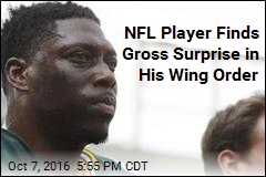 NFL Player Finds Chicken Head in Wing Order