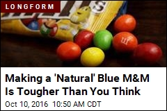 Making a 'Natural' Blue M&M Is Tougher Than You Think