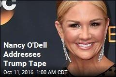 Nancy O'Dell Addresses Trump Tape on ET