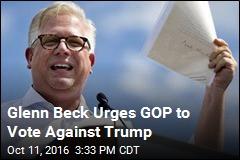 Glenn Beck Picks President Clinton Over President Trump