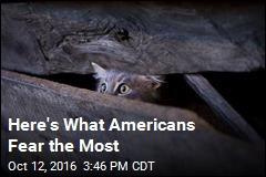 Americans' Top 10 Fears