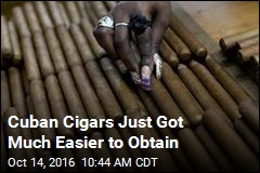 Cuban Cigars Just Got Much Easier to Obtain