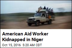 American Aid Worker Kidnapped in Niger